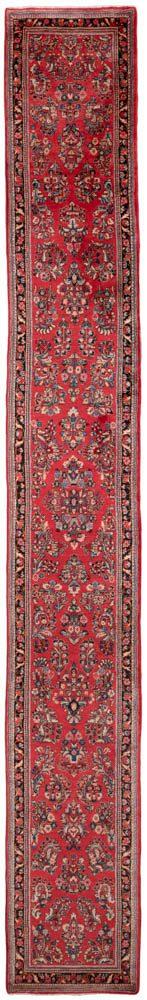 vintage persian sarouk runner rug