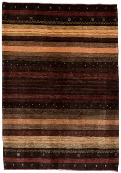 persian gabbeh metallic rug