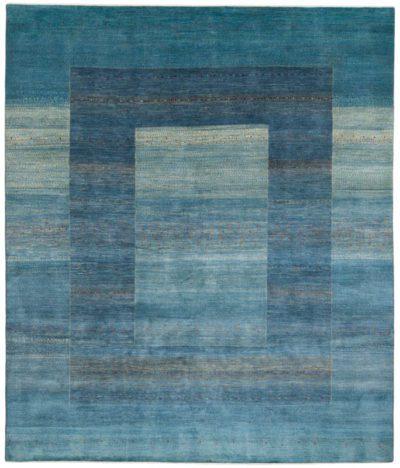 persian gabbeh blue rug