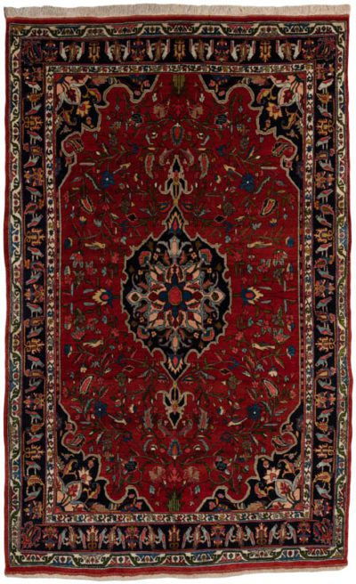 antique halvai bidjar rug