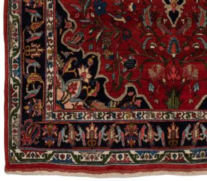 antique halvai bidjar rug