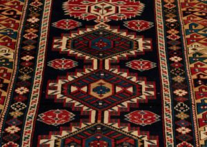 antique karaghashli rug