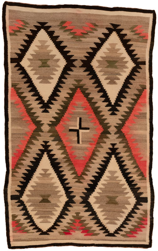 antique american navajo rug