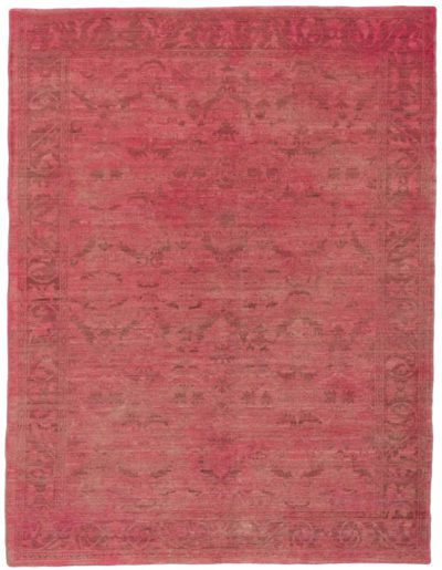 sultanabad overdyed rug