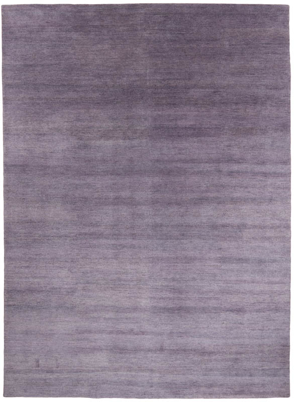 Essential Wool Tweed Purple Rug