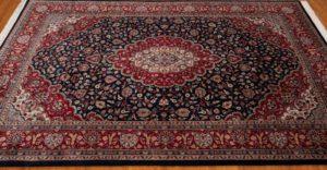 kashan wool rug