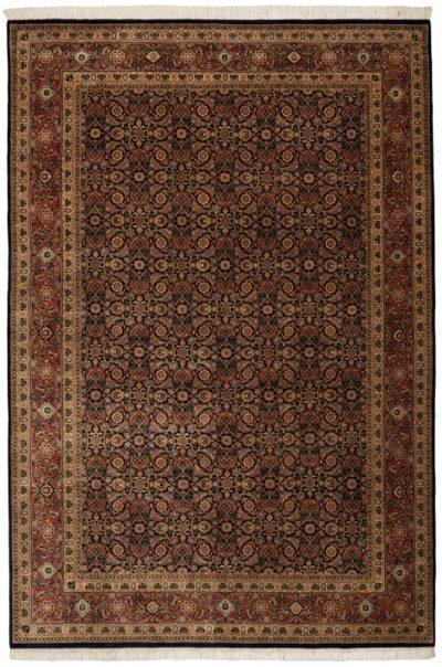 herati wool rug