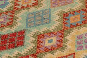 maimana kilim wool rug