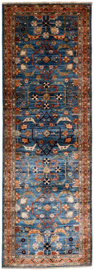 serapi wool runner rug