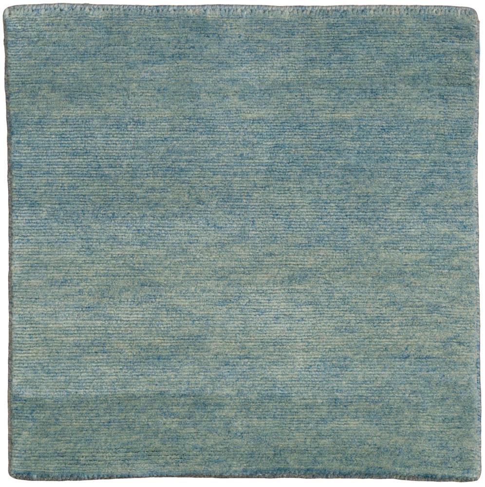 Essential Wool Knotted Modern Sea Glass Blue Rug Kebabian S Rugs