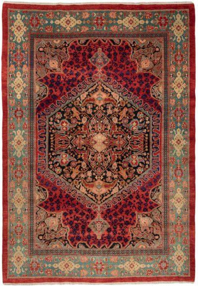 oushak heirloom wool rug