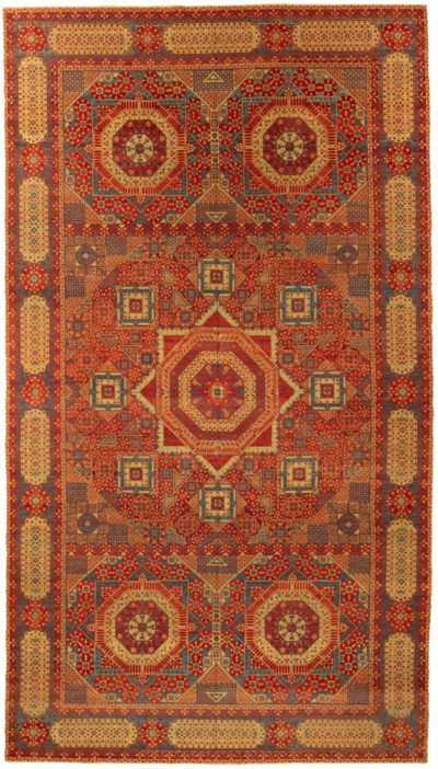 mamluk oversized wool rug