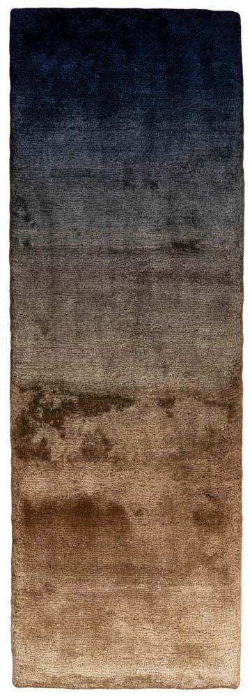 modern navy bronze rug