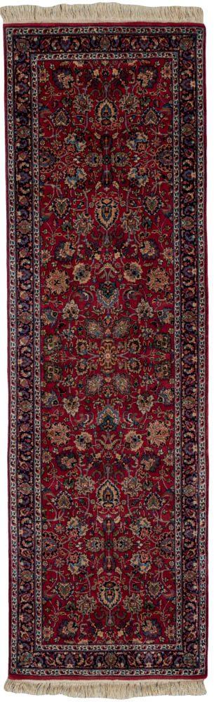 kashan runner rug