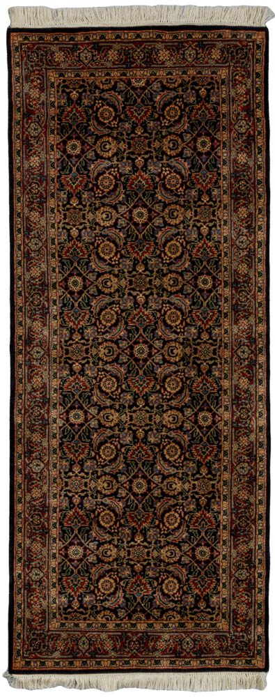 herati runner wool rug