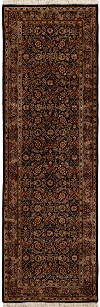 herati wool runner rug