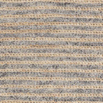 modern jute and wool rug