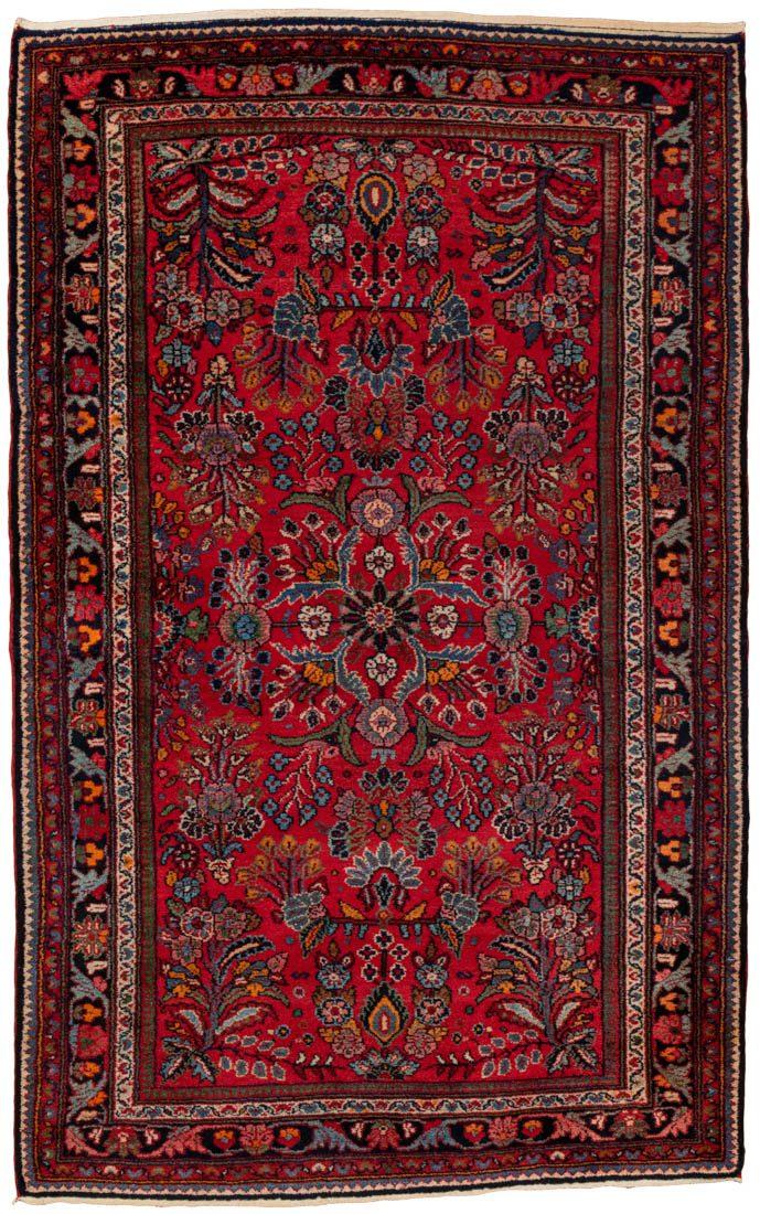semi-antique wool rug