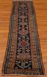 antique runner wool rug