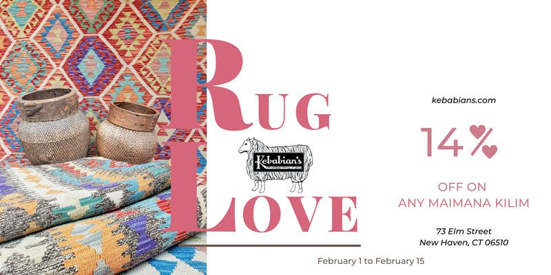 Rug Love Valentine's Day Discount