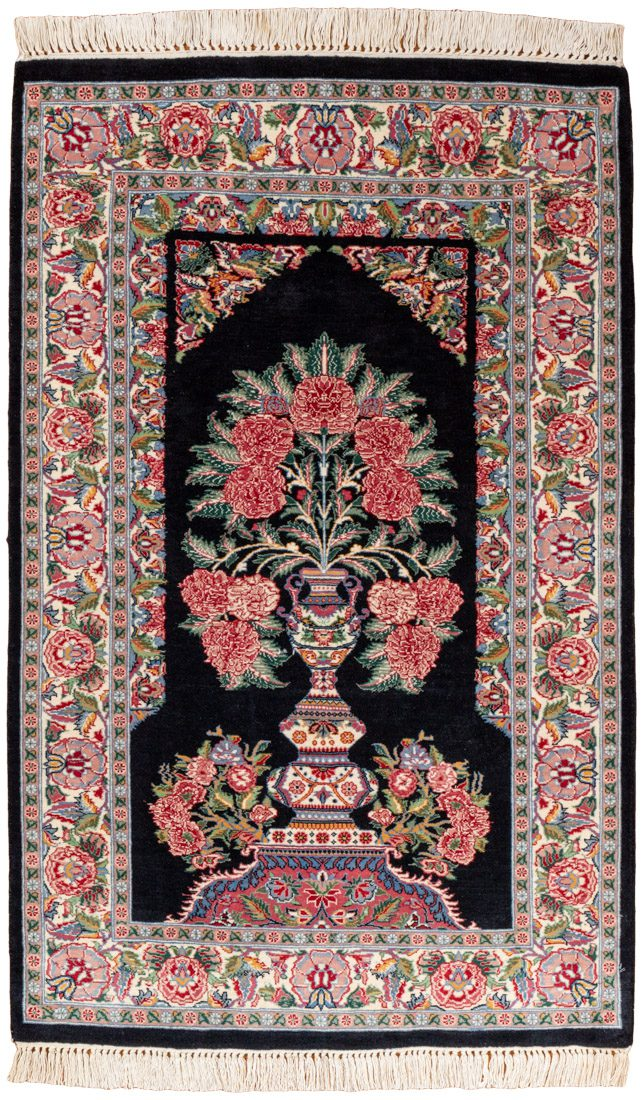 garden prayer wool rug