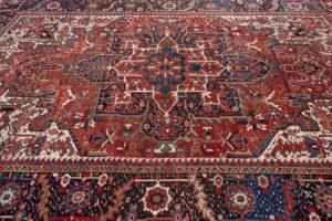 antique heriz rug