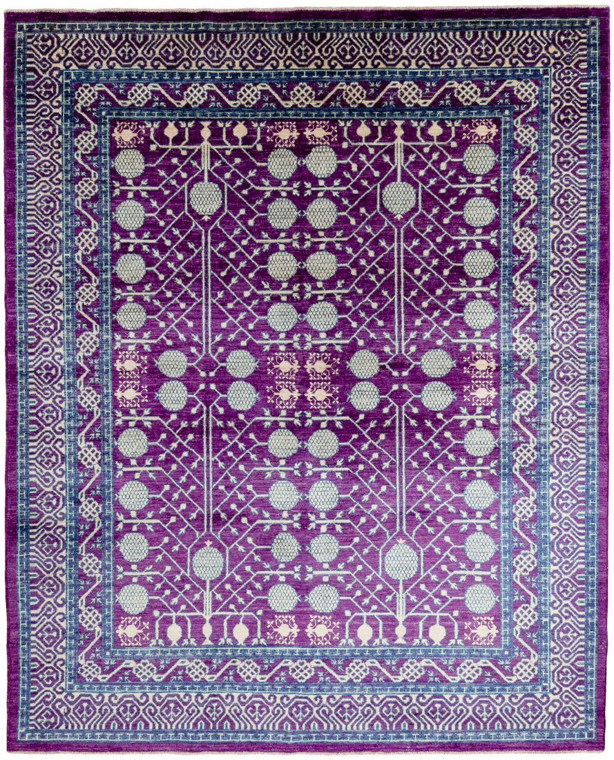 khotan wool rug