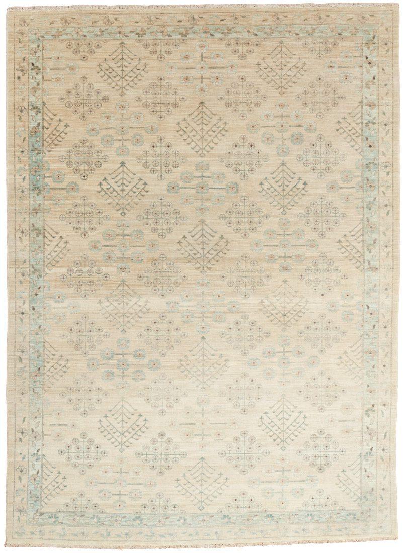 agra wool rug