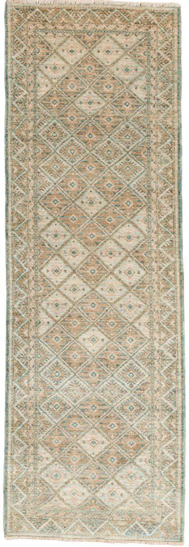 turkmen wool runner rug