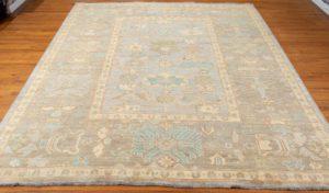 oushak wool rug