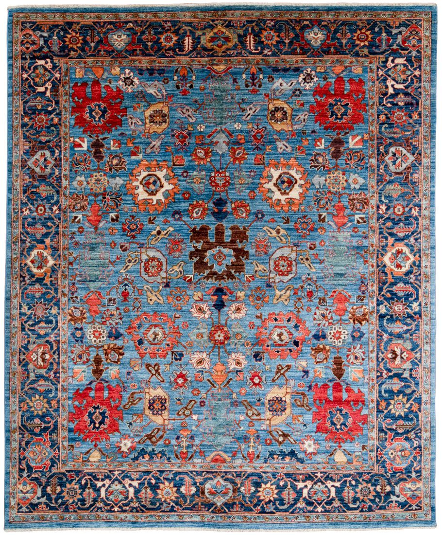 harshang wool rug