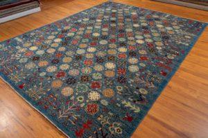 afshar wool rug