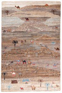 gabbeh wool rug