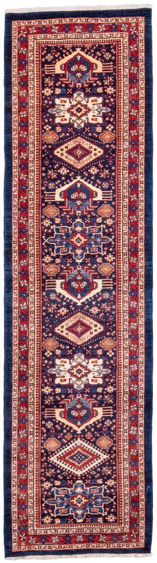 shahsavan runner rug
