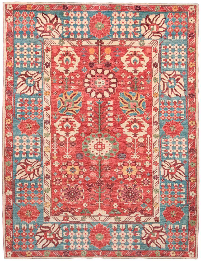 kurdish wool rug