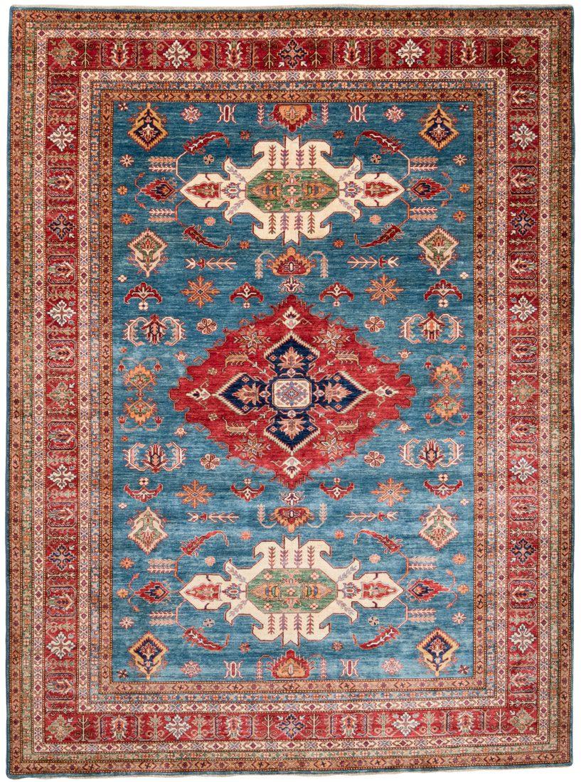 kazak wool rug