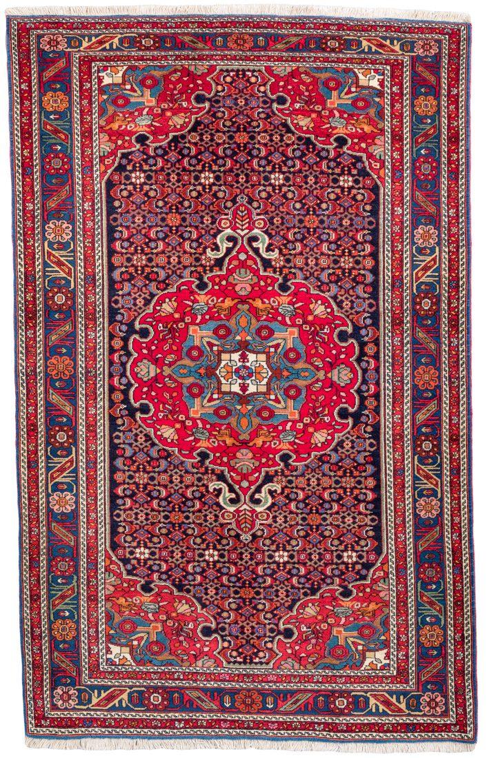 bidjar semi antique rug