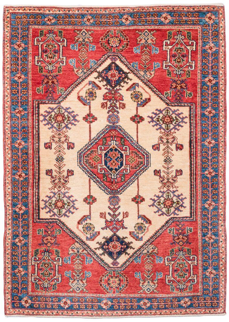 qashqai wool rug