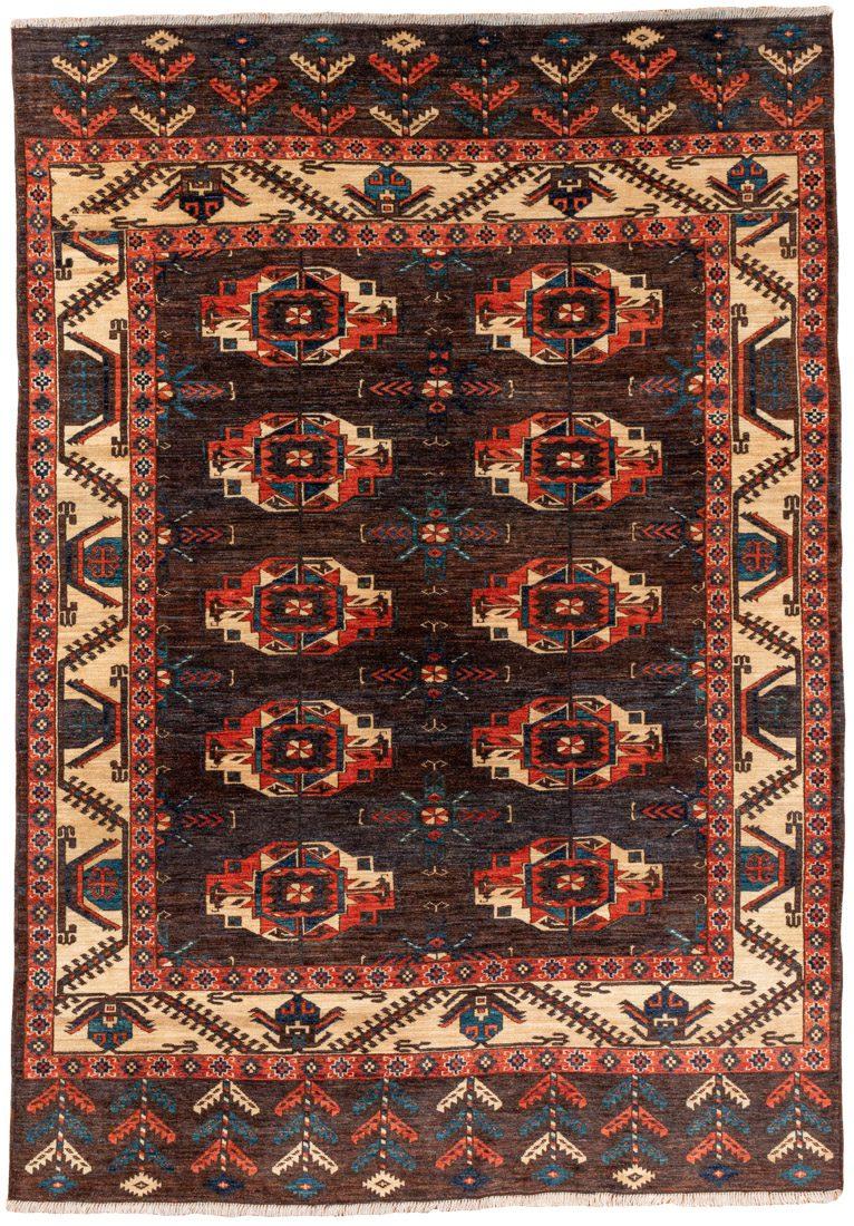 tekke bokhara wool rug