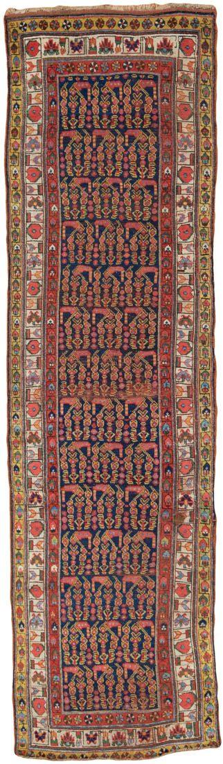 antique persian wool runner