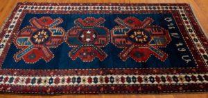 antique kazak runner rug