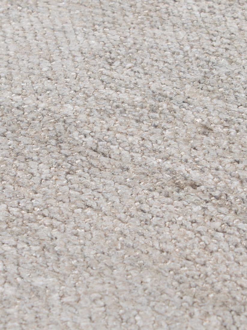 contemporary banana silk rug