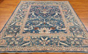 arabesque tribal rug