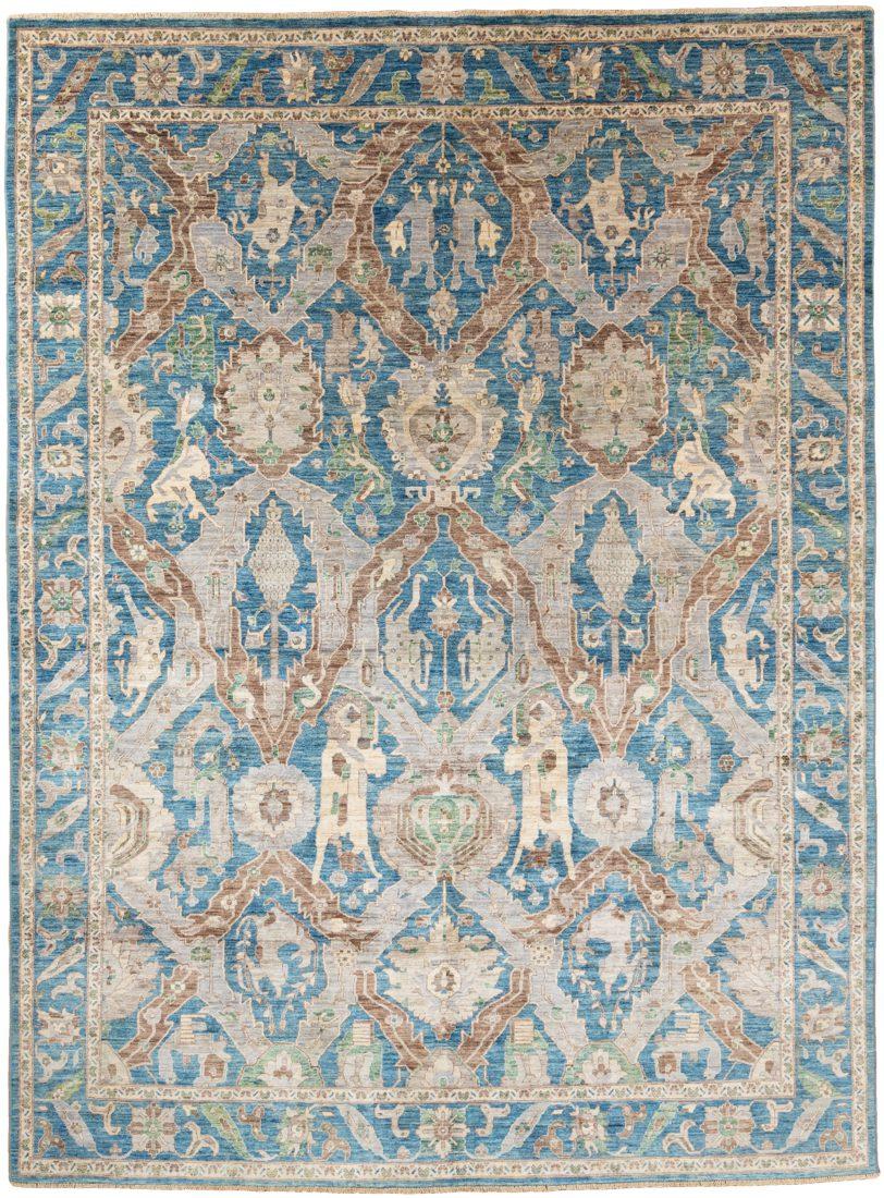 karabagh dragon tribal rug