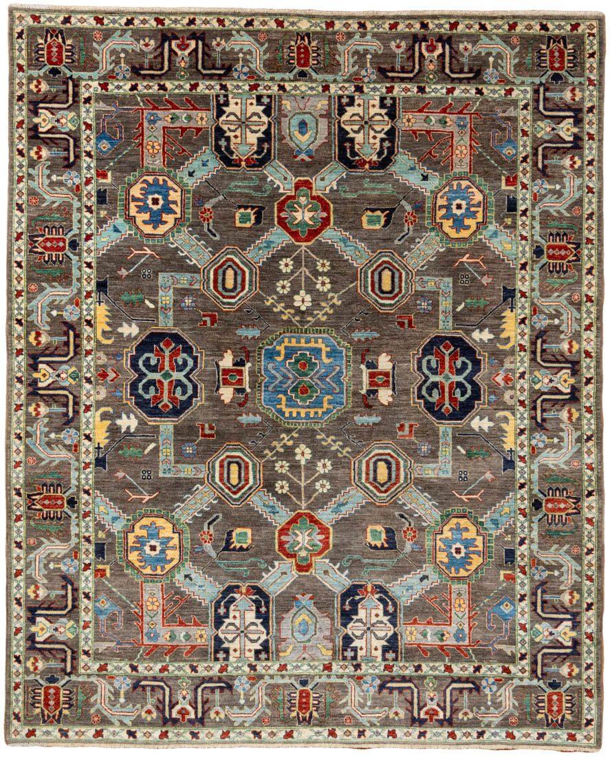 bakshaish tribal wool rug