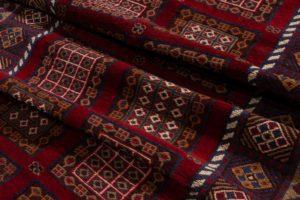 vintage afghan runner rug