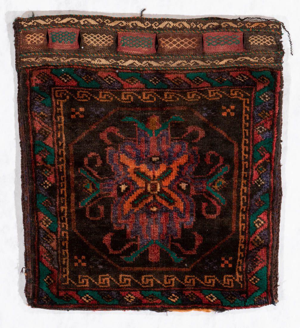 tribal bag wool rug