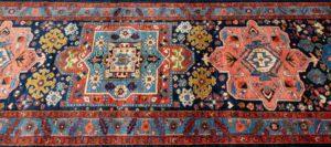shahsavan wool rug